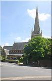 SU7272 : Christ Church, Christchurch Road by Roger Templeman
