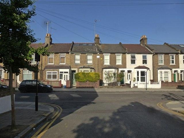 Terraced houses, Glyn Road