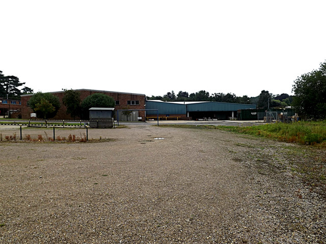 Visitors Car Park & Industrial Premises