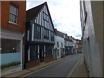 TM2749 : Church Street, Woodbridge by David Smith