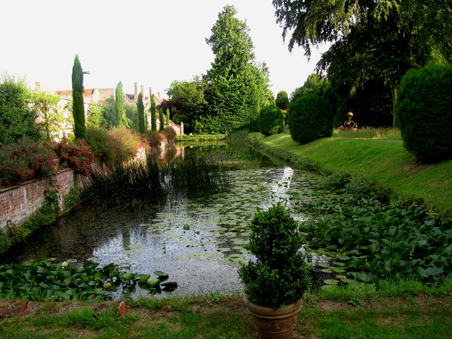 Pond At Kentwell Hall