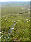 SH8141 : Rather steeply downhill by Richard Law