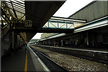 SX9193 : Exeter St David's station by John Winder