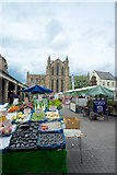 NY9364 : Hexham Market and Abbey by Peter Skynner