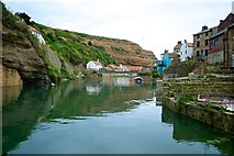 NZ7818 : Staithes Beck by Peter Skynner