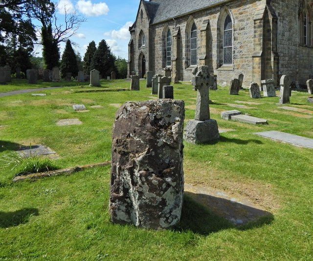 Strathblane Parish Kirkyard: standing stone