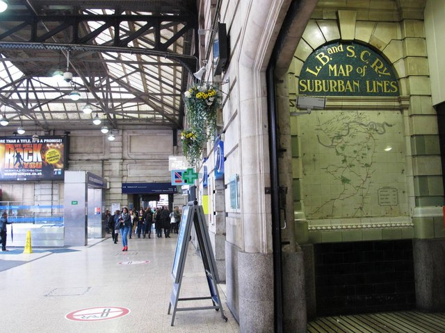 (Part of) Victoria Station, SW1