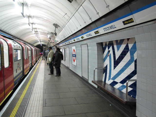 Stockwell tube station, Victoria Line