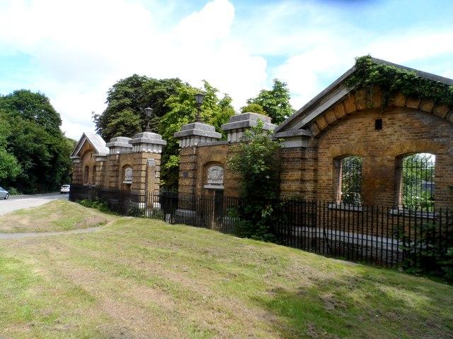 Entrance to former Willems Barracks
