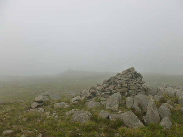 Cairns in the mist