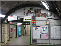 TQ2981 : Tottenham Court Road tube station - Paolozzi mosaic, lower hall (2) by Mike Quinn