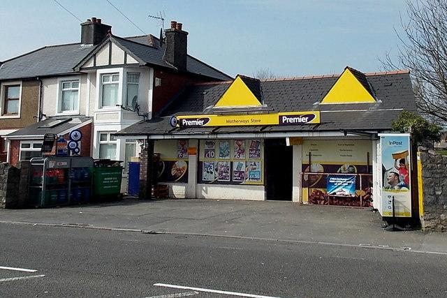 Motherways Store in Bridgend