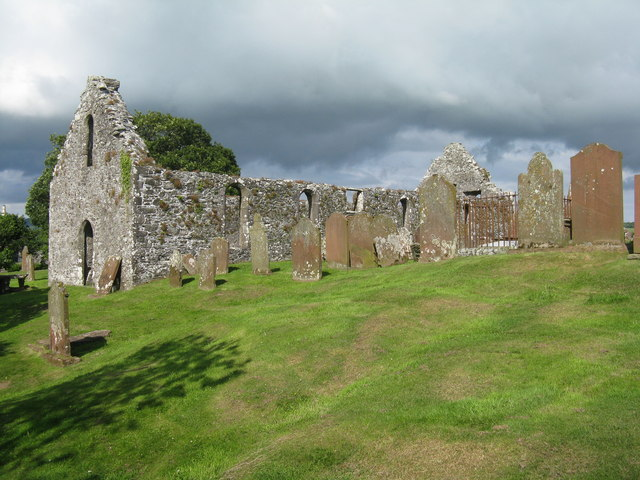 Girthon Church and graveyard