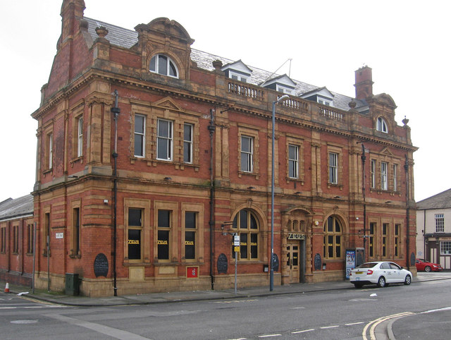 Hartlepool - former post office on Whitby Street