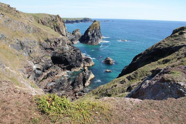 Cliffs near Kynance Cove