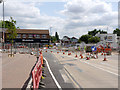 SK5336 : Station Road/Middle Street crossroads by Alan Murray-Rust