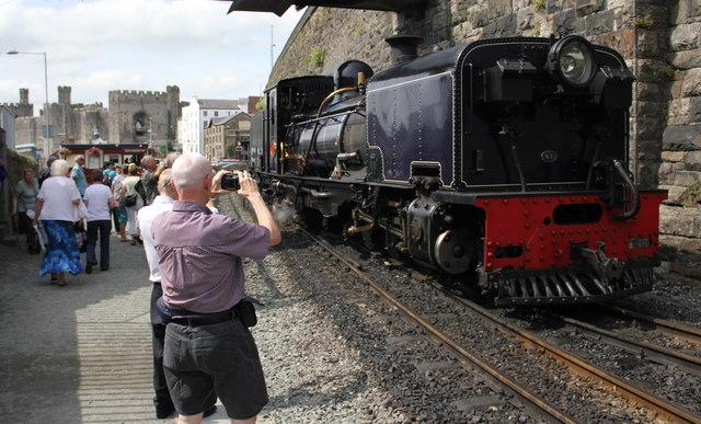 Photo Opportunity at Caernarfon