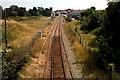 TM3035 : Felixstowe Rail Terminus by Tim Marchant