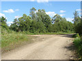 TQ0074 : Gravel pit access road by Alan Hunt