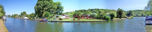 Eyot Island : River Thames