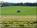 NT6927 : Field and tractor at Ormiston by Oliver Dixon