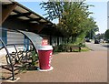 SU8068 : Costa by the Bike Shed by Des Blenkinsopp