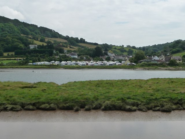 Camping site, Axmouth