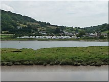 SY2591 : Camping site, Axmouth by Christine Johnstone