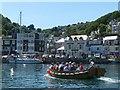 SX2553 : Looe ferry by Robin Drayton