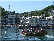 SX2553 : Looe ferry by Robin Drayton