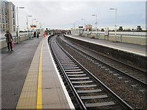 TQ4085 : Wanstead Park railway station, Greater London by Nigel Thompson