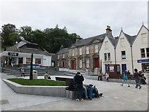 NN1073 : Cameron Square, Fort William by Alpin Stewart