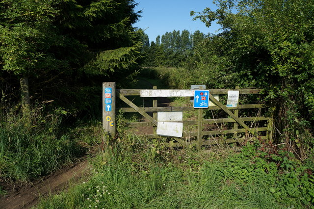 Cycle route to Dunnington