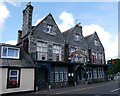 NX4758 : 'The Wicker Man' Filming Locations: The Ellangowan Hotel, Creetown by James T M Towill
