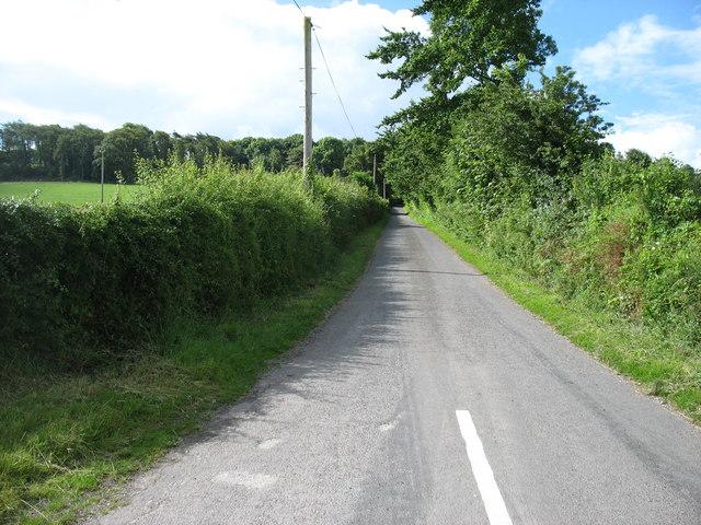 Minor road at Kilbarry