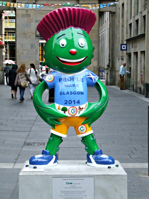 Clyde, the 2014 Commonwealth Games mascot