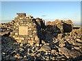 NN1671 : War memorial on the summit of Ben Nevis by Steven Brown