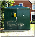 TM3763 : Electricity Sub-Station at Mayflower Green by Geographer