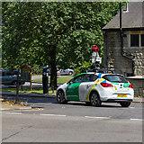 TQ3296 : Google Streetview camera car by David P Howard
