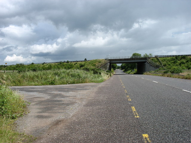 The M8 crossing the R639 (the former N8)