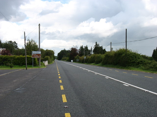 The R639 south of Galtymore