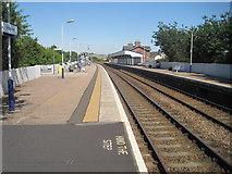 NO8686 : Stonehaven railway station, Aberdeenshire by Nigel Thompson