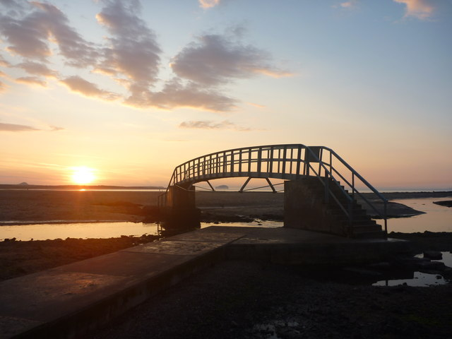 Coastal East Lothian : Sunset At Belhaven
