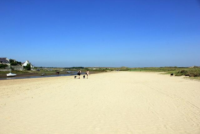 The Anglesey Coastal Path at Aberffraw