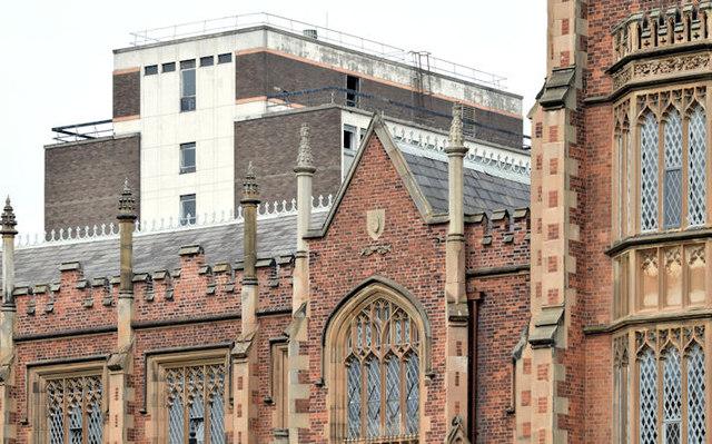 Former library, Queen's University, Belfast - July 2014(4)