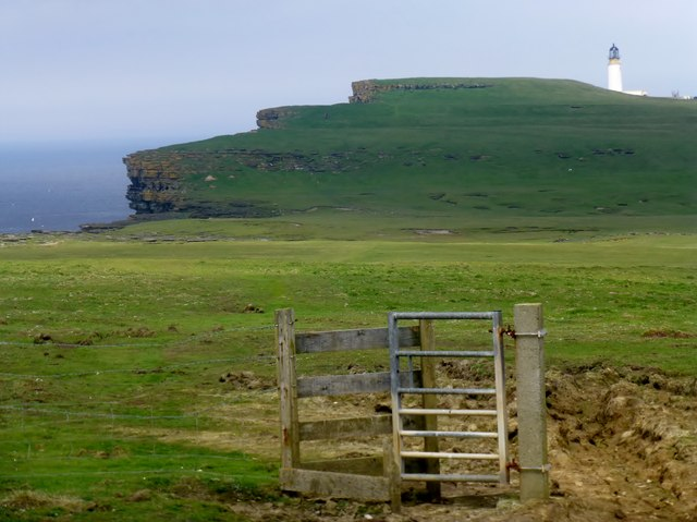 Distant View Towards Noup Head