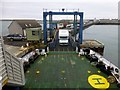 HY6528 : Loading The Ferry At Stronsay by Rude Health