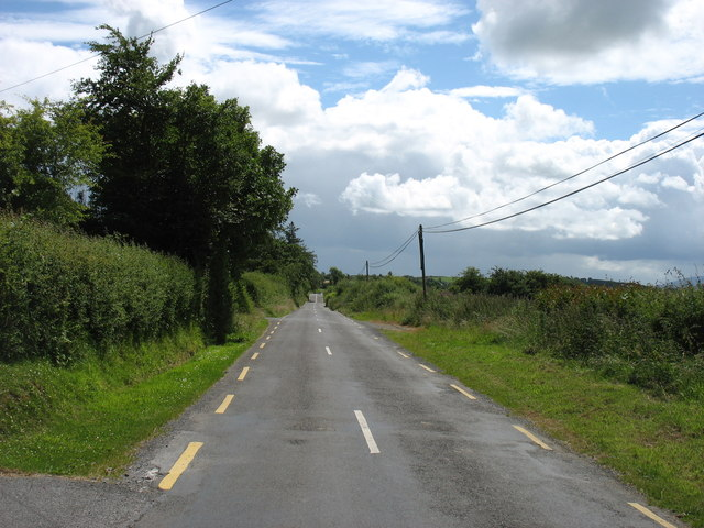 The road to Ballingarry