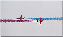 NT5678 : Two Red Arrows by William Starkey