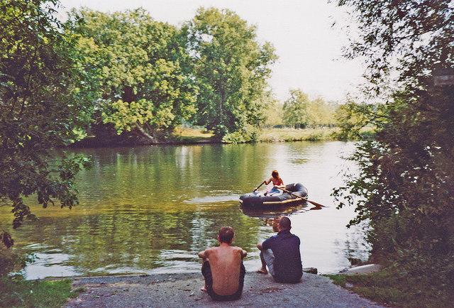 River Thames at Medmenham, 2003